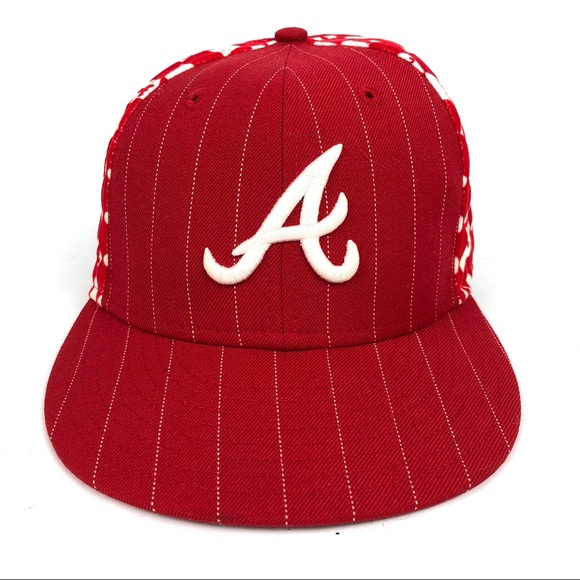 ea3f0d7891309 New Era 59Fifty Atlanta Braves Mens Hat 7 1 8